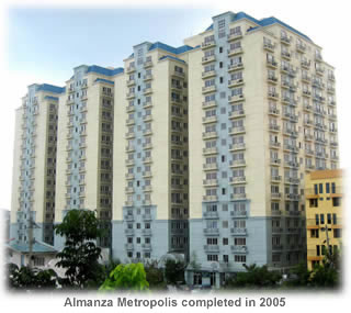 Almanza Metropolis Muntinlupa Philippines House Lot Real Estate Property For Sale