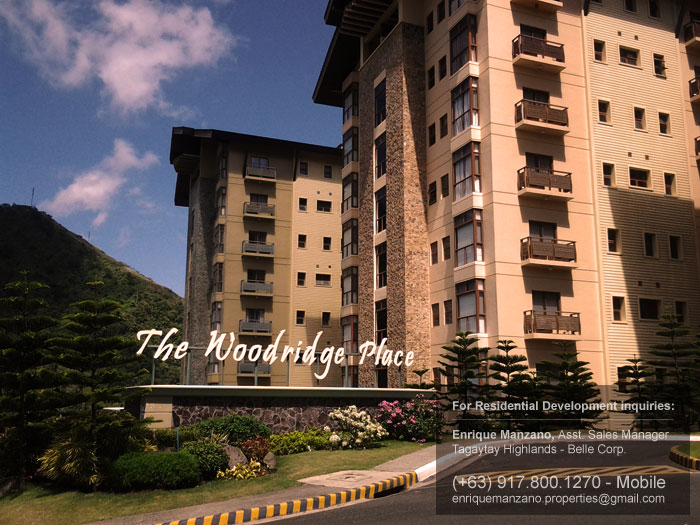 The Woodridge Place, Tagaytay Highlands, Philippines