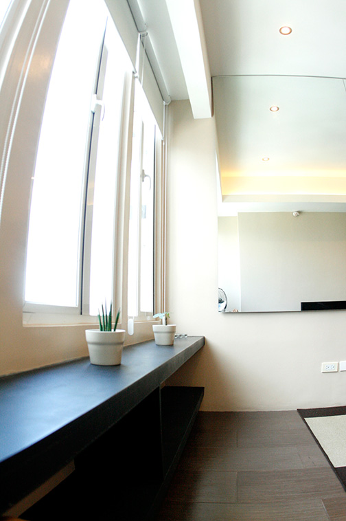 Modern Interior finish at Seibu Tower Condominium, BGC, Philippines