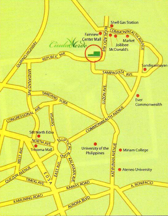 FOR SALE CIUDAD VERDE West Fairview Quezon City  House and Lot