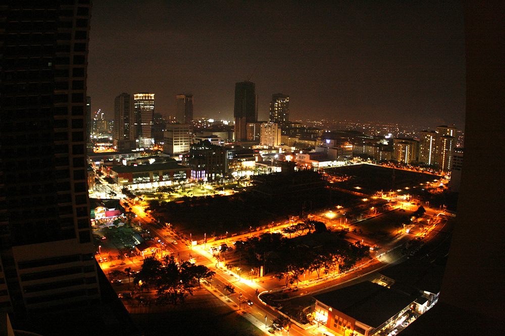 1 Bedroom Seibu Tower condominium in BGC night view