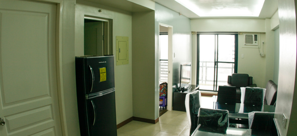 The Flair Towers, 2BR with balcony Unit for rent – 60sqm, Philippines condominium