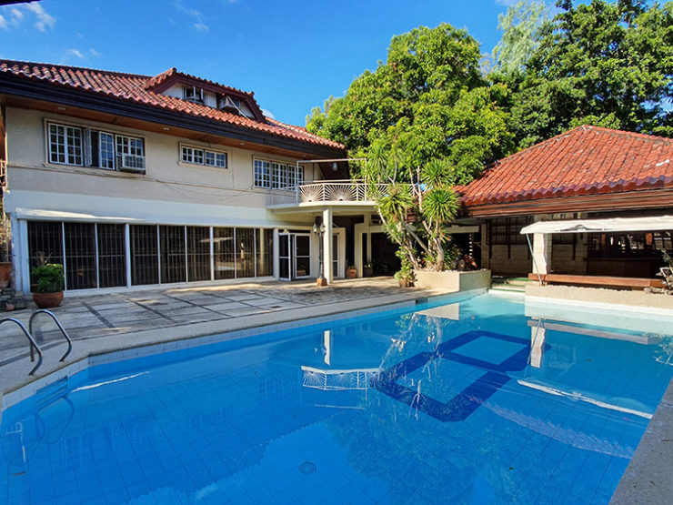 FOR SALE: 7BR House with Pool – Ayala Alabang Village, Muntinlupa