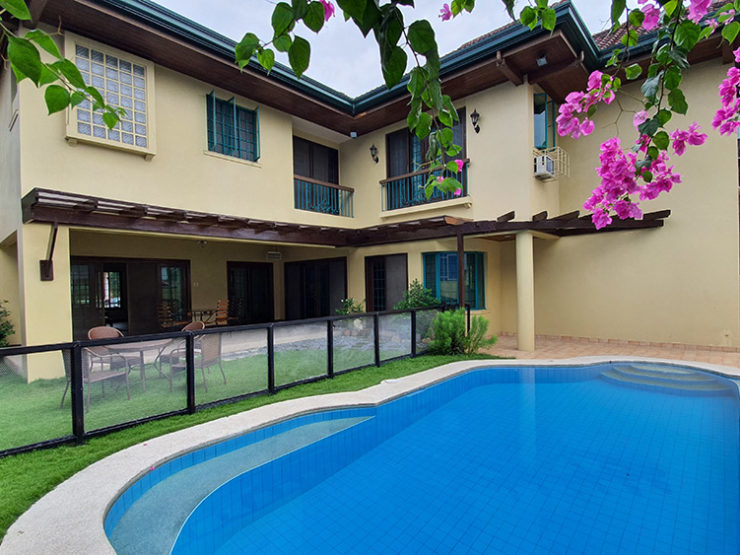 FOR SALE: 4BR House with Swimming Pool – Ayala Alabang Village – P80M